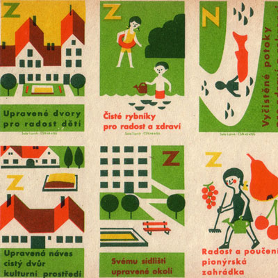 Czechoslovak Matchbox Labels Feature