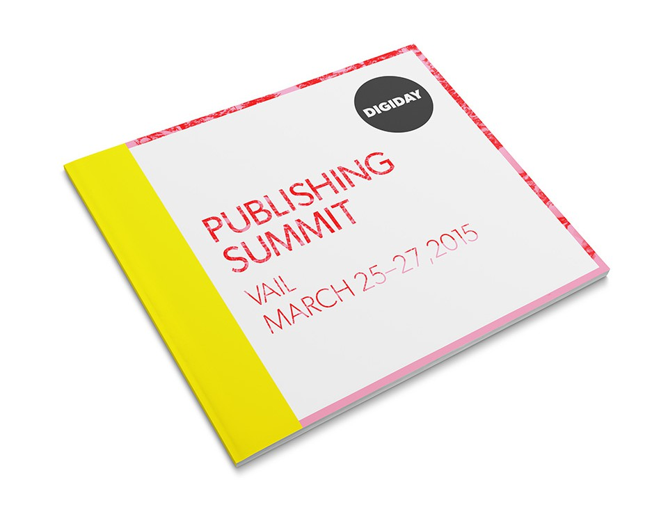 Digiday Summit Agenda - Cover